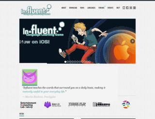 playinfluent.com screenshot