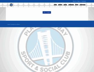 playinthebay.leagueapps.com screenshot