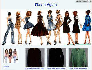 playitagain.storenvy.com screenshot