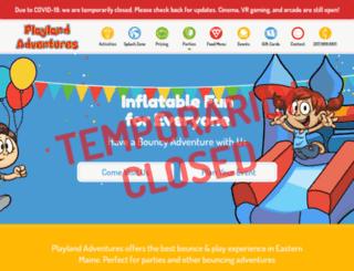 playlandadventures.com screenshot