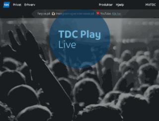 playlive.tdc.dk screenshot