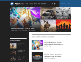 playmag.fr screenshot