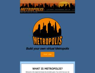 playmetropolis.net screenshot