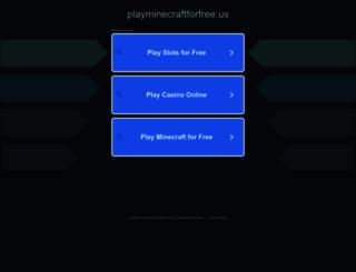 playminecraftforfree.us screenshot