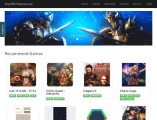 playmmogame.com screenshot
