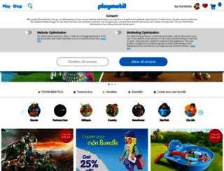 playmobil.co.uk screenshot