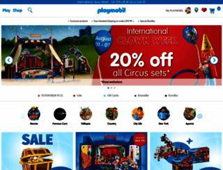 playmobilusa.com screenshot