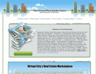 playmoney.virtualrealestategame.com screenshot