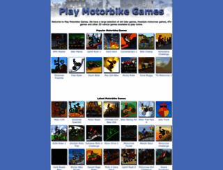 playmotorbikegames.com screenshot