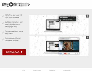 playnowradio.com screenshot