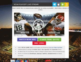 playoff.directtvlivestream.com screenshot
