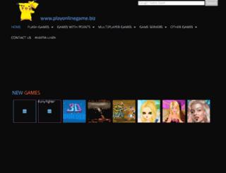 playonlinegame.biz screenshot