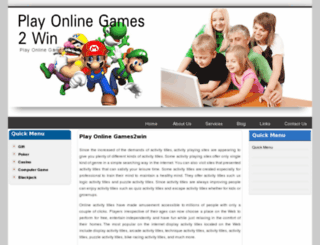 playonlinegames2win.com screenshot