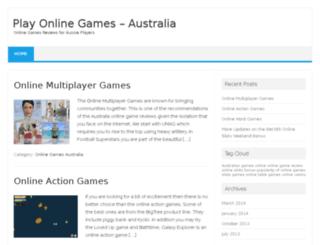 playonlinegamesaustralia.com screenshot