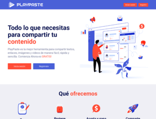 playpaste.com screenshot