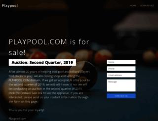 playpool.com screenshot