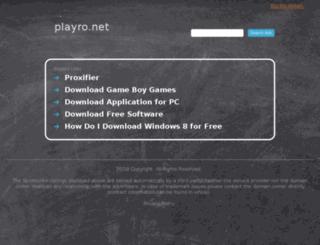 playro.net screenshot