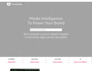 playspread.com screenshot