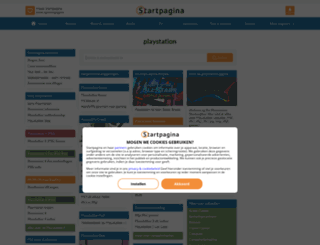playstation.startpagina.nl screenshot