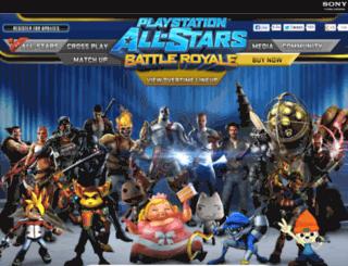 playstationallstarsbattleroyale.com screenshot