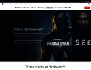 playstationmusic.com screenshot
