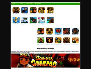 playsubwaysurfers.com screenshot