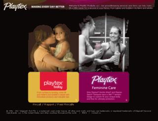 playtexproductsinc.com screenshot