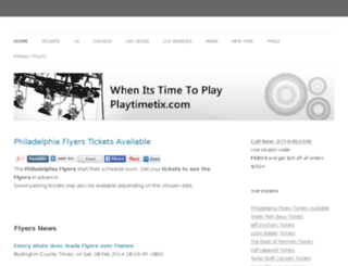 playtimetix.com screenshot