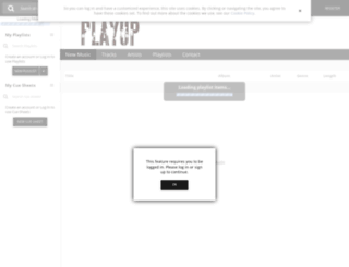 playup.sourceaudio.com screenshot
