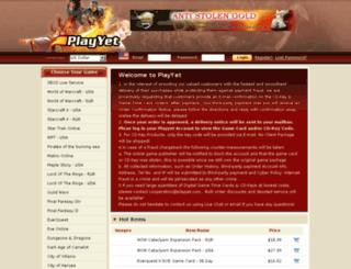 playyet.com screenshot