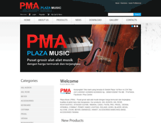 plaza-music.com screenshot