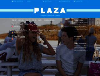 plazacinema.org.uk screenshot