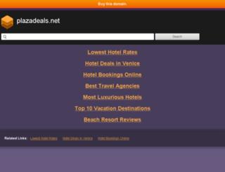 plazadeals.net screenshot