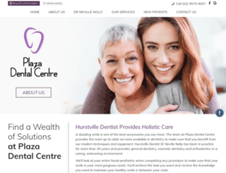 plazadentalcentre.com.au screenshot