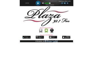 plazafm.com.ve screenshot