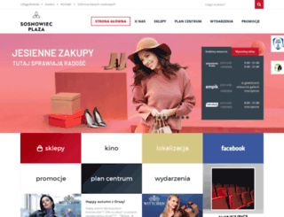 plazasosnowiec.pl screenshot