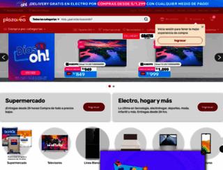plazavea.com.pe screenshot