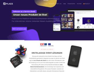 plazz-entertainment.com screenshot