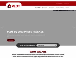 pldt.com.ph screenshot