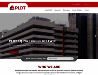 pldt.com screenshot