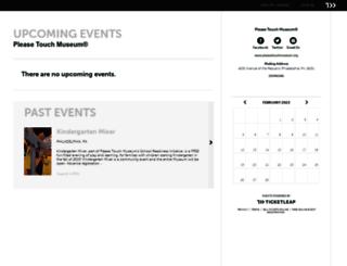 pleasetouchmuseum.ticketleap.com screenshot