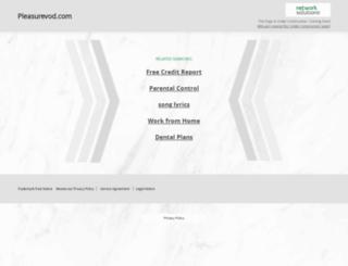 pleasurevod.com screenshot