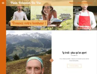 pleinpotentieldevie.com screenshot