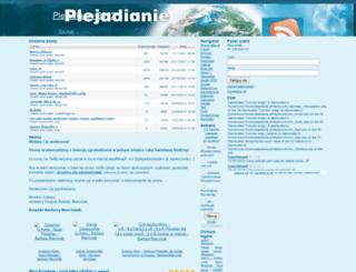 plejadianie.pl screenshot