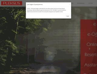 pleksus.com.tr screenshot