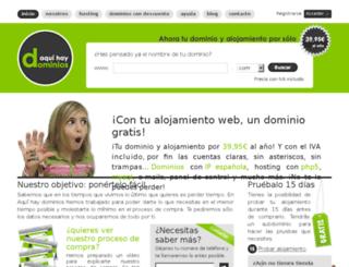 plesk.aquihaydominios.com screenshot