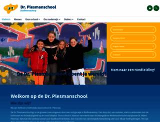 plesmanschool.nl screenshot