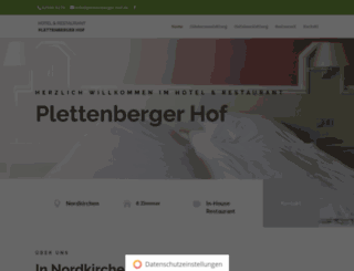 plettenberger-hof.de screenshot