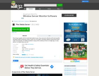 plex-media-server.soft32.com screenshot
