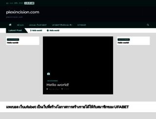 plexincision.com screenshot
